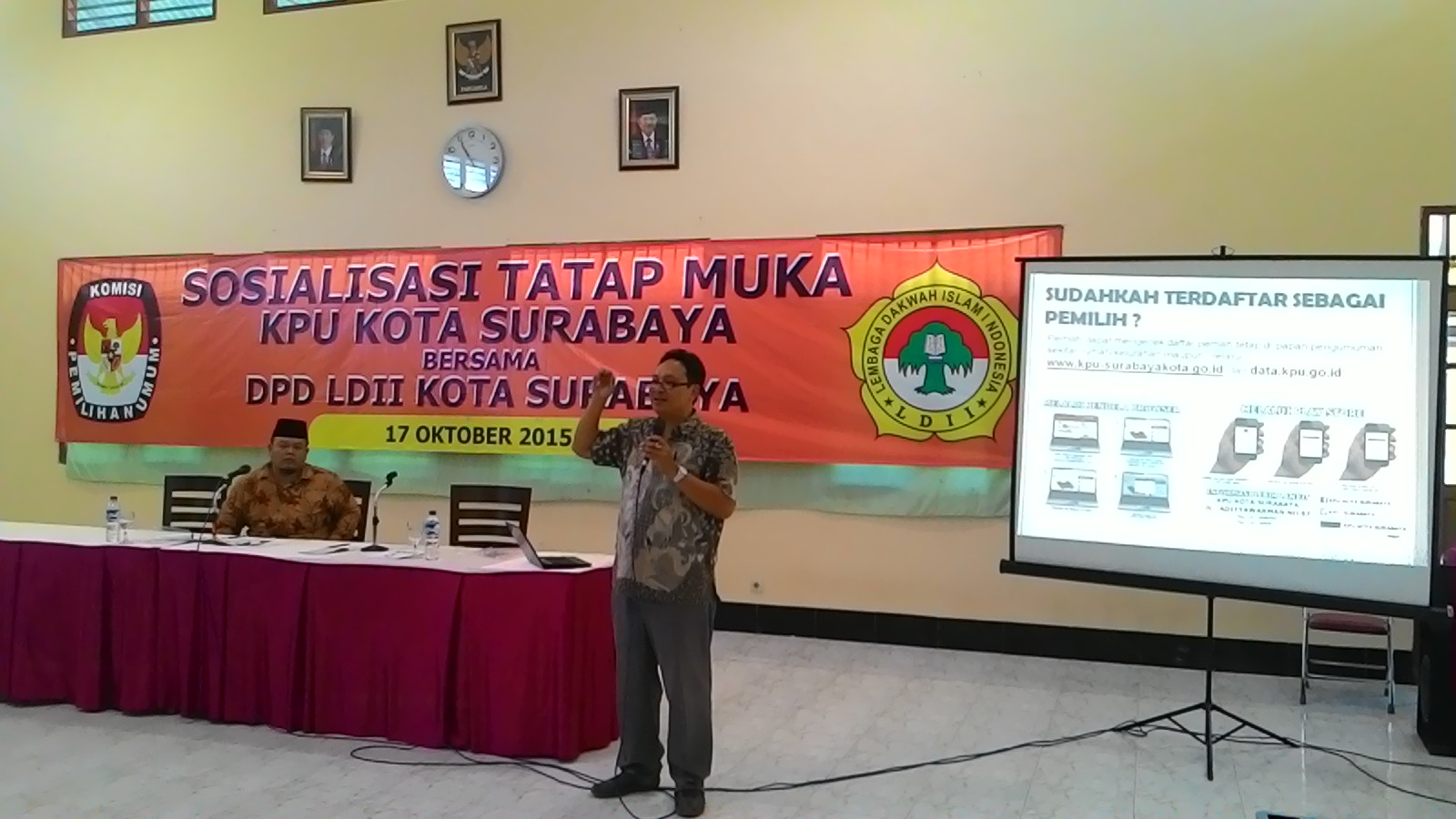 Sosialisasi KPU Surabaya