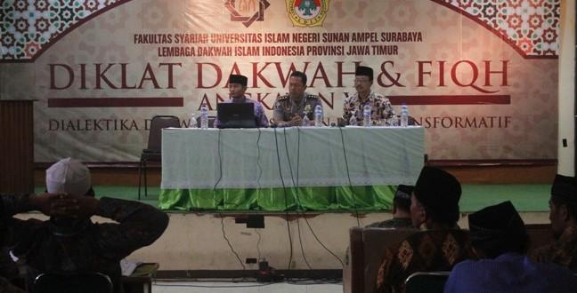 Wadir Binmas Polda Jatim, AKBP Dulfi Muis, SH, SIK (tengah)