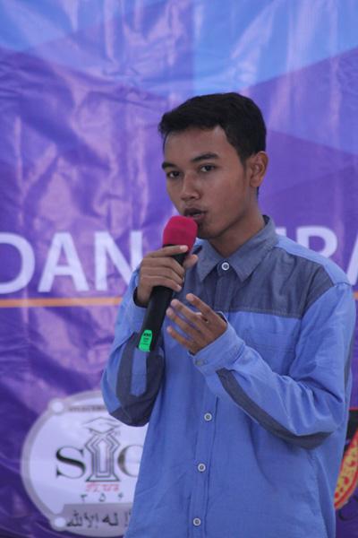 Restu salah satu anggota FDMU