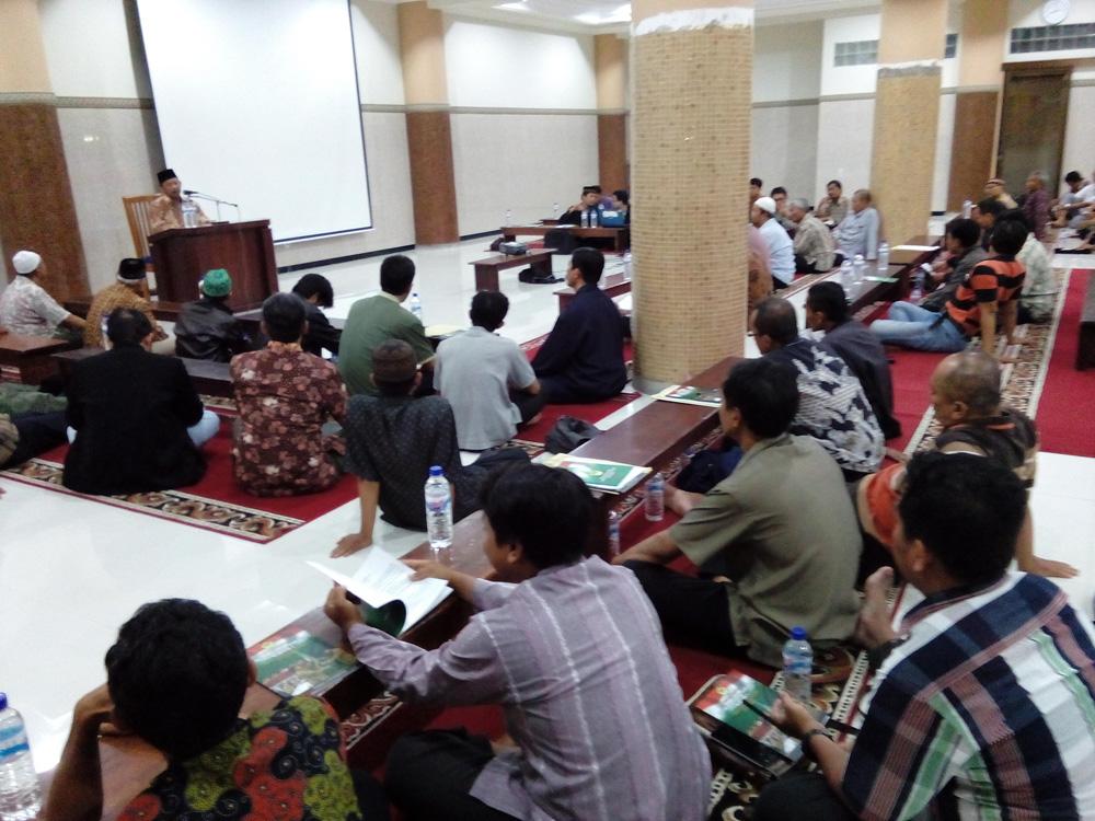 Peserta konsolidasi PC dan PAC LDII Kota Surabaya.