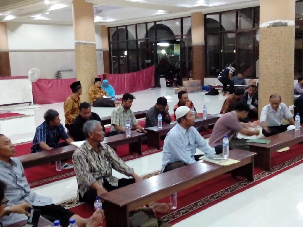 Peserta konsolidasi PC-PAC LDII Korda Surabaya Utara