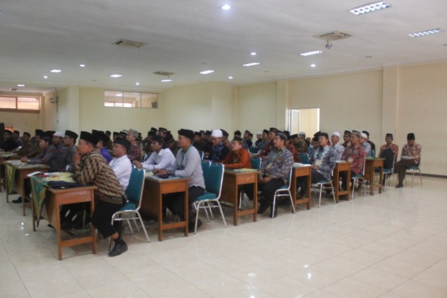 Peserta Diklat Dakwah & Fiqh DPW LDII Jatim