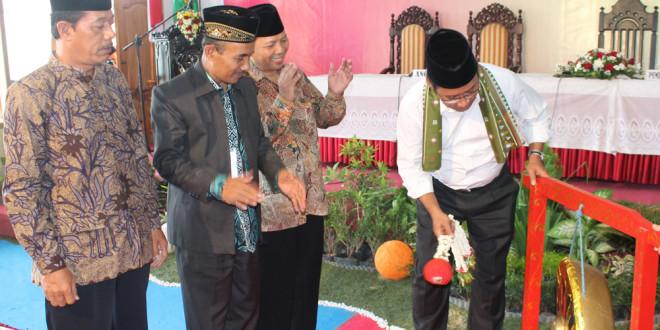 Bupati Kabupaten Tulungagung Syahri Mulyo, SE membuka Musda VIII LDII Kabupaten Tulungagung.