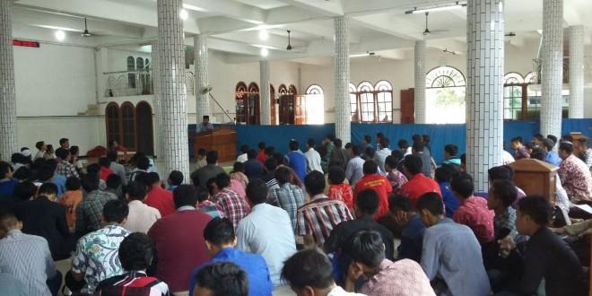 Pengajian Muda-Mudi DPD LDII Kabupaten Sidoarjo yang diselenggarakan di Ponpes Al Barokah, Sruni, Sidoarjo, Minggu (21/2/2016).