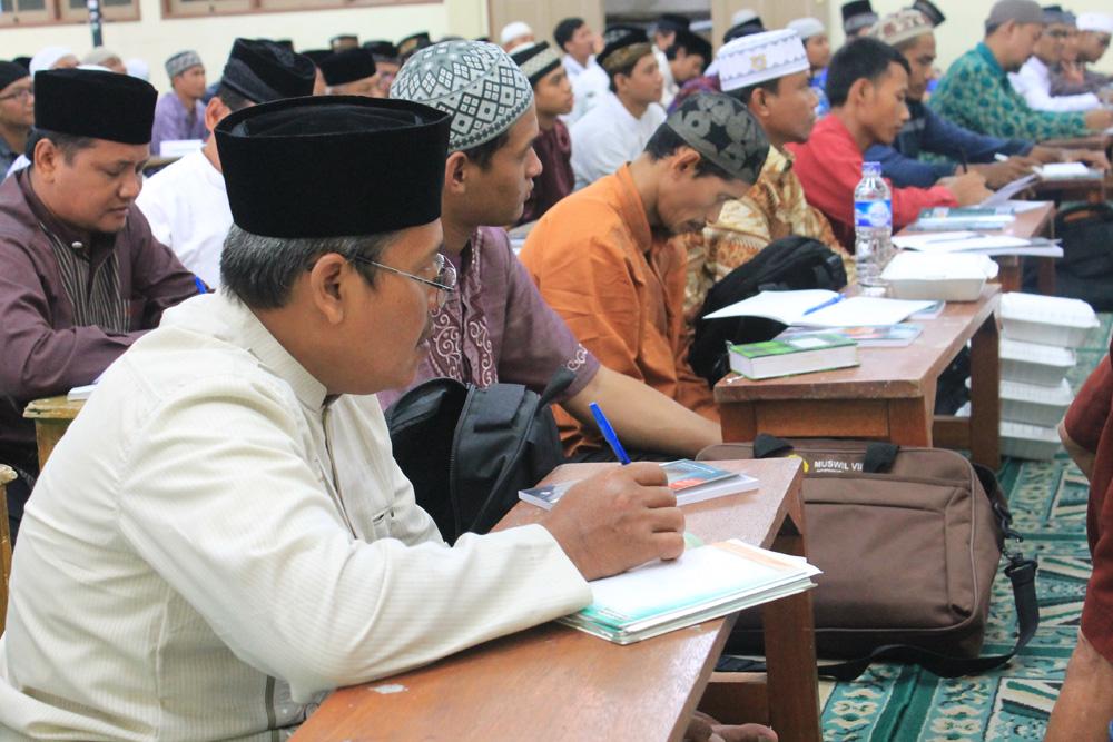 Peserta diklat organisasi DPD LDII Kabupaten Pasuruan.