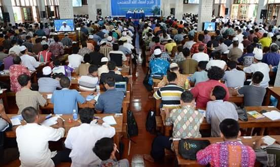 Kegiatan Asrama Syarah Asmaul Husna yang digelar di Ponpes Wali Barokah, Kediri.
