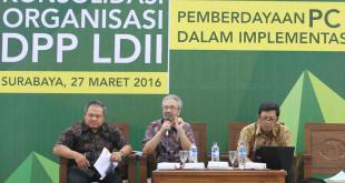 Konsolidasi LDII, Implementasikan UU Desa di Tingkat PC dan PAC