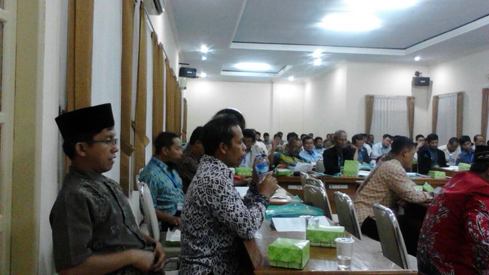Peserta Workshop Ekonomi Syariah LDII Jawa Timur.