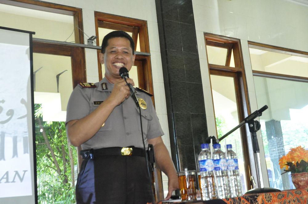 AKP Dwiko Gunawan, S.H Kasat Binmas Polres Malang.