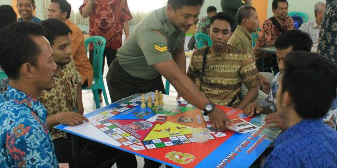 120 Kader LDII Jawa Timur mengikuti Training of Trainers (ToT) Matematika Bela Negara di Makorem 084 Bhaskara Jaya, Senin (2/5).