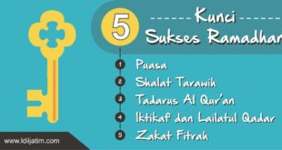 5 sukses ramadhan