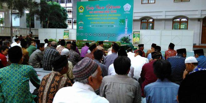 Pondok Pesantren Wali Barokah Kediri menggelar buka puasa bersama dan santunan anak yatim, Selasa (14/6).