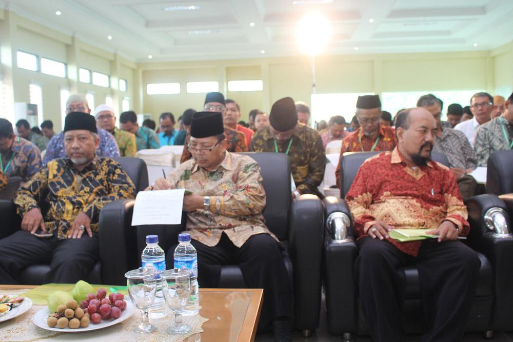 Peserta pengajian dan temu bisnis LDII Jawa Timur.