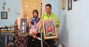 Atlet Panahan Jawa Timur, Bunga Arbela sabet medali emas cabang olahraga panahan di PON XIX/2016 Jawa Barat.