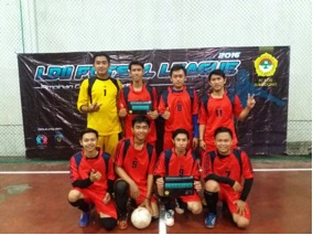Juara 1 Liga Futsal LDII 2016 dari Tim PAC Wilayut