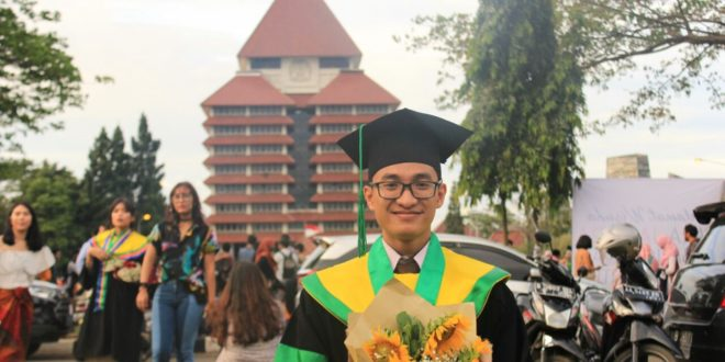 Rabid Yahya Putradasa, lulusan terbaik Fakultas Kedokteran UI 2017.