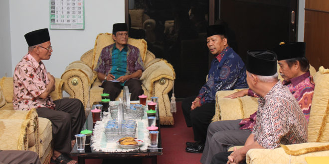 DPW LDII Jawa Timur diterima audeinsi pengurus PWNU Jawa Timur, Selasa (11/4).