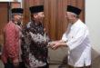 Pengurus beserta Dewan Penasehat DPW LDII Provinsi Jawa Timur melakukan silaturahim ke Pengasuh Pondok Pesantren Tebuireng Dr. Ir. H. Salahuddin Wahid atau biasa dipanggil Gus Sholah, Jombang, Selasa (24/7).