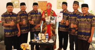 Pengurus DPD LDII Kabupten Jember malakukan Audiensi dengan Bupati Jember dr. Hj. Faida, MMR, di Pendopo Wahyawibawagraha, Selasa (18/8).