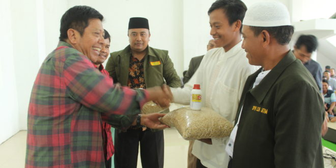 DPR Bantu LDII Jombang Realisasikan Ketahanan Pangan