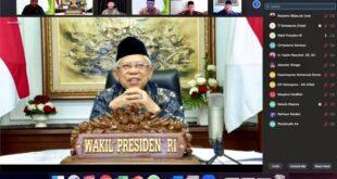 Wapres Maruf Amin Ajak LDII Bersama Atasi Dampak Covid-19