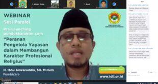 Kontribusi dan Sinergi Yayasan dalam Membangun Karakter Profesional Religius