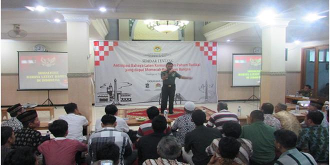 Seminar Wawasan Kebangsaan yang diselenggarakan oleh PC LDII Kenjeran, Minggu (14/2/2016).