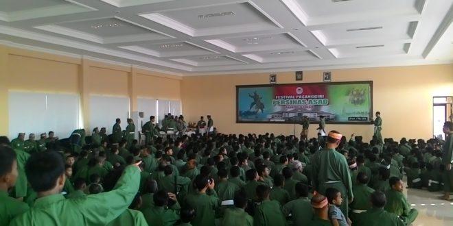 Festival Pasanggiri Persinas ASAD Kabupaten Gresik, Minggu (1/5).