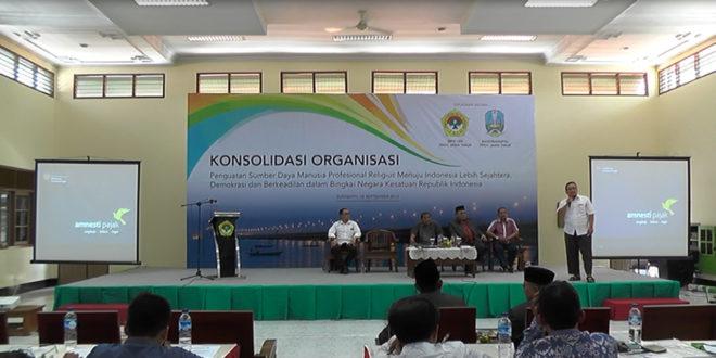 Sosialisasi Amnesti Pajak DPW LDII Jawa Timur, Minggu (18/9).