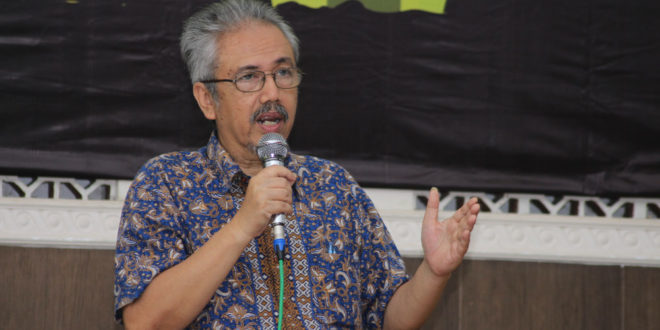 Wakil Sekretaris Dewan Pakar Ikatan Cendekiawan Muslim Indonesia (ICMI) Prasetyo Sunaryo.