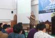 Ketua DPP LDII Prasetyo Sunaryo memberikan pembekalan mapping talent pada mahasiswa binaan LDII di Gedung Serba Guna Baitul Manshurin, Kecamatan Pakis, Kabupaten Malang, Senin (24/4).