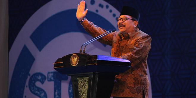 Gubernur Provinsi Jawa Timur Soekarwo.