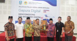Perkuat UMKM, LDII & Diskominfo Jatim Kembangkan Literasi Digital