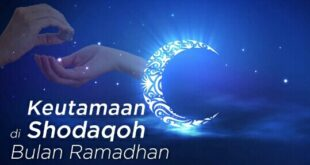 Keutamaan Shodaqoh di Bulan Ramadhan