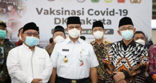 Gubernur Anies Baswedan Kunjungi Sentra Vaksinasi Covid-19 LDII