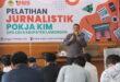 Pelatihan Jurnalistik di Aula Al-Karim, Sugio, Lamongan, Minggu (3/10).